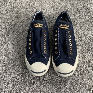 Ltd Edition Jack Purcell Navy Gold Converse slip